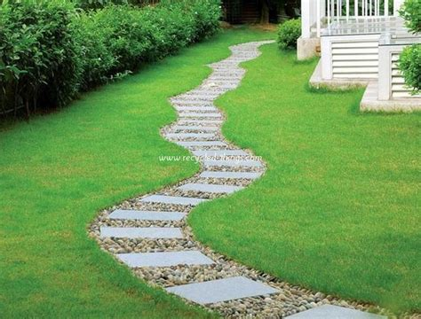 Walkway Ideas For Backyard Garden Path Walkway Ideas Recycled Things