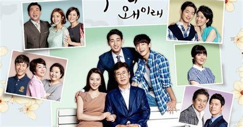 drama korea romantis family sinopsis kdrama what happens to my family 2014