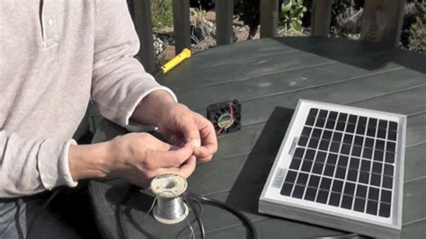 solar powered box fan solar powered garage fan with remote how to install a