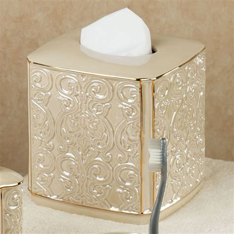 damask bathroom accessories furla cream damask ceramic bath accessories