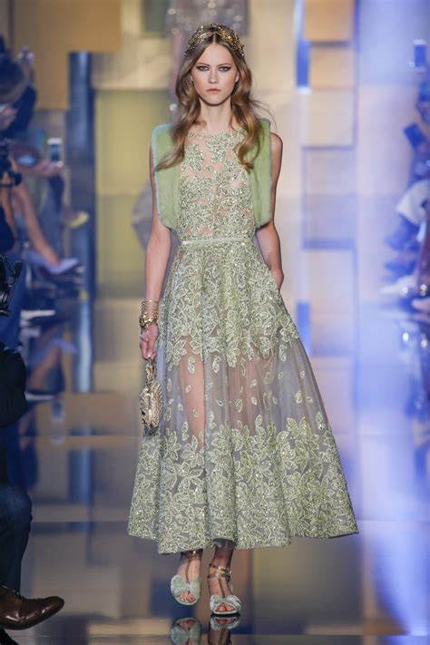Oscar Predictions Trends From The Couture Catwalks by For Elie Saab S Byzantine Princess All That Glitters Is
