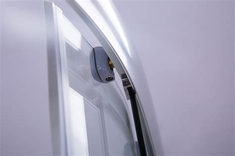 Curved Shower Screen Handle by Rounded Sliding Curved Shower Screen 6mm Toughened Glass