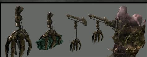image 08 clawresource harvester grineer concept art