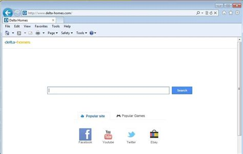 how to get rid of delta homes browser hijacker repair