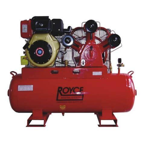 royce hp diesel air compressor compressor care