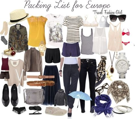 travel fashion s how to pack for europe wanderlust