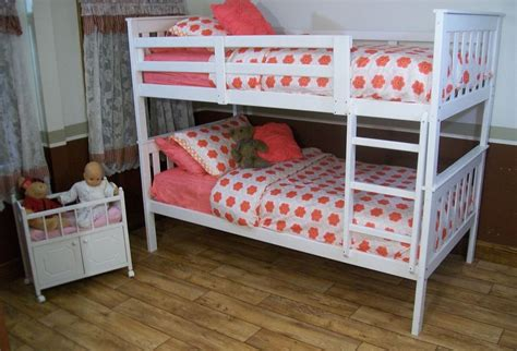 twin bed with mattress included mission style twin or full bunk beds 9 paint options