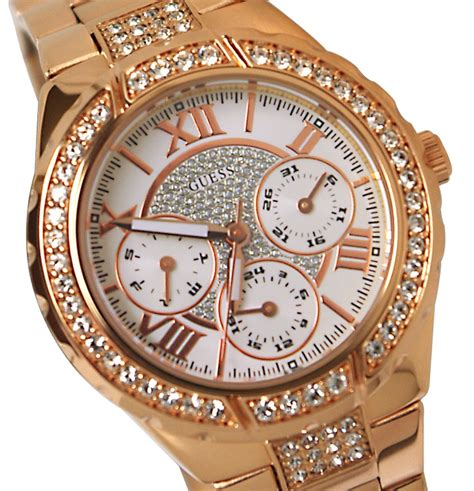 Guess Gs0253 Rosegold guess gold w bling my style gold watches gold watches and gold