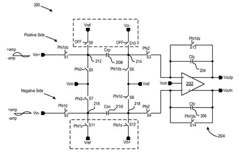 switched integrator circuit patent us7843232 dual mode single ended to fully differential converter structure