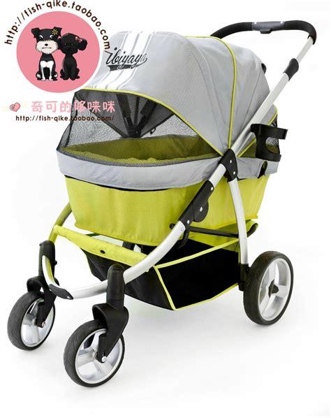 Pet Stroller Ibiyaya 2 luxury taiwan ibiyaya pet stroller cart large folding quality goods authorization in