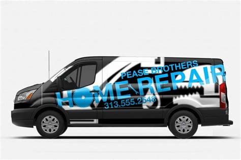 design van graphics online ford launches updated vehicle wrap design tool autotrader
