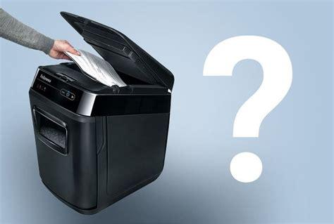choosing the best shredders how to choose the right shredder