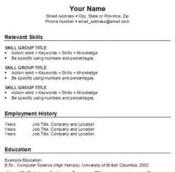 How You Write A Resume How To Write A Resume Sample