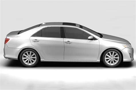 Toyota Camry Models by 2012 Toyota Camry 3d Model Buy 2012 Toyota Camry 3d