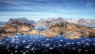 greenland landscape east greenland summer landscape a snap from a