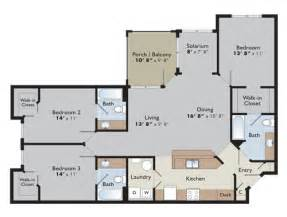 luxury apartment floor plans 3 bedroom luxury charlottesville apartments arden place 434 295 3200