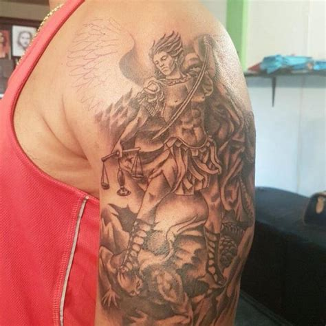 st michael tattoo meaning 95 best michael tattoos designs meanings 2018