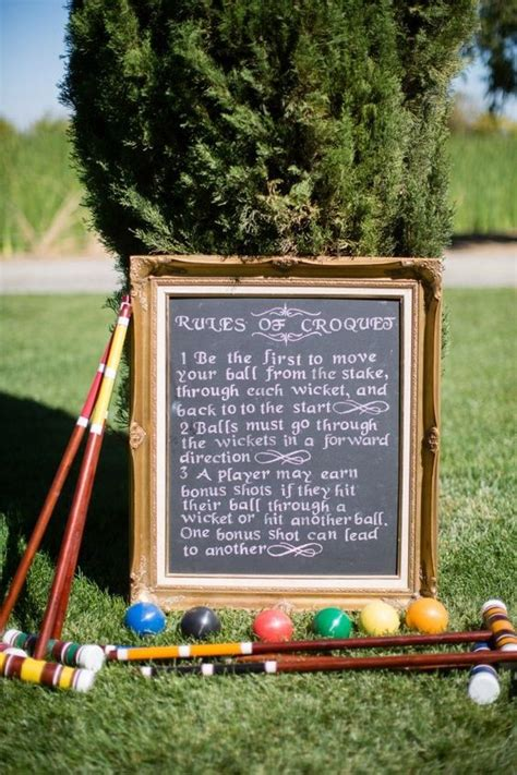 backyard croquet rules 2016 new wedding summer outdoor 6 player wooden croquet