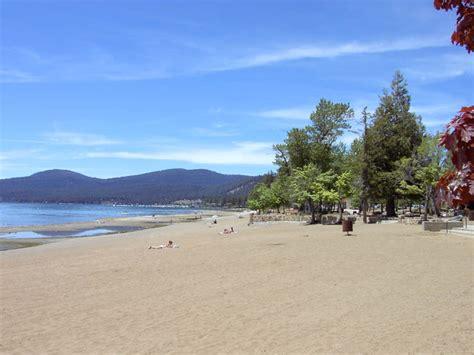 lake tahoe beaches kings beach stretch - Lake Tahoe Boat Rentals Kings Beach