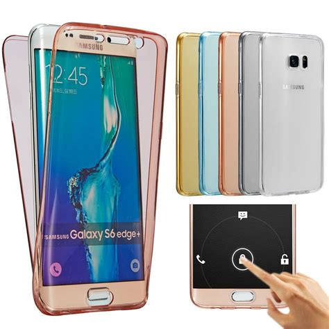 Samsung Galaxy A9 360 Degree Tpu Slim Silicone Casing Cover Armor etui coque housse protection silicone tpu 360
