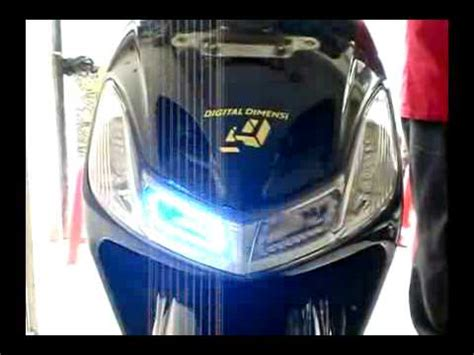 Lu Flash Light 6 Led Biru Biru Variasi Lu Flash Light lu strobo on new mega pro by sigma variasi probolinggo funnydog tv