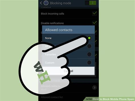 mobile spam how to block mobile phone spam 7 steps with pictures