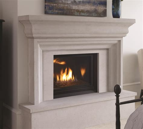 Small Direct Vent Fireplace by Gas Fireplaces Horizon Hz33ce Kastle Fireplace