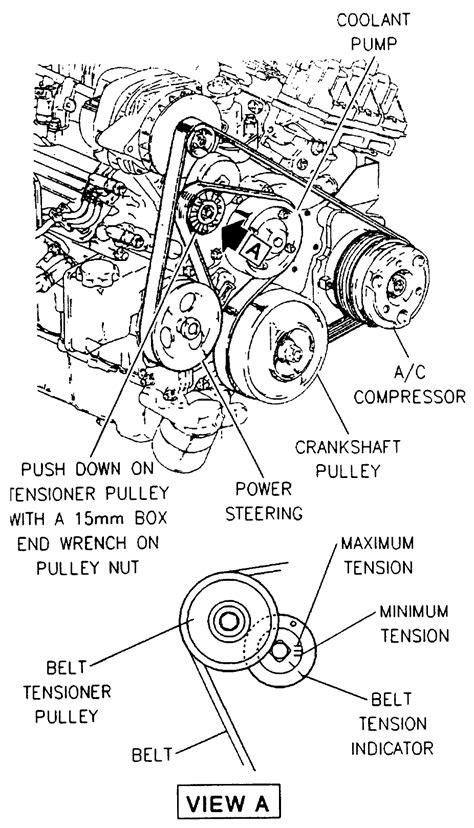 29 1997 Buick Lesabre Belt Diagram - Wiring Diagram List