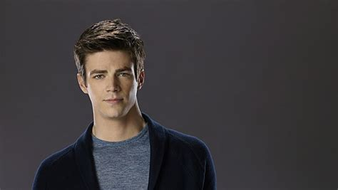actor the flash the flash cast promotional photos