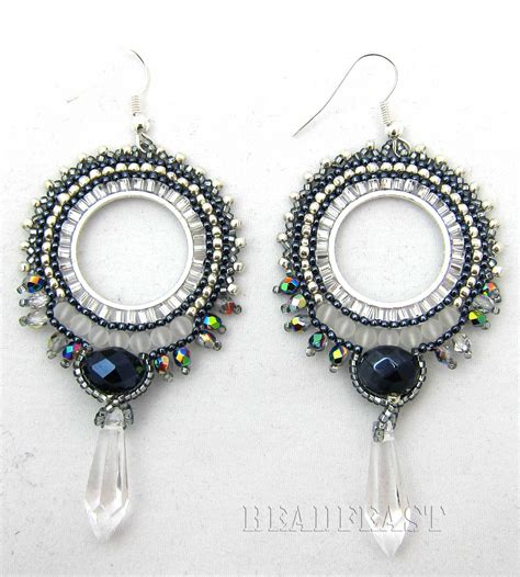 Earring Chandelier Beaded Earrings Beadfeast