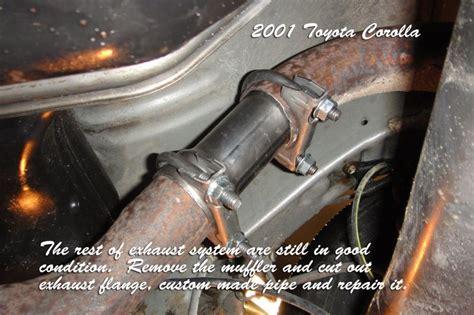 Motorrad Auspuff Reparieren by Exhaust Exhaust Flange Repair
