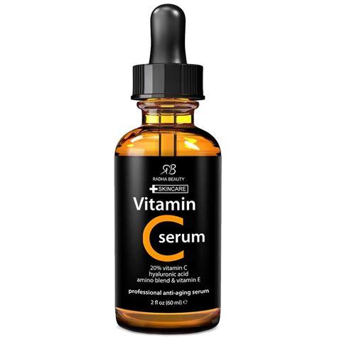 Serum Vitamin C 20 buy radha best vitamin c serum for 2 fl oz 20 organic vit c e hyaluronic