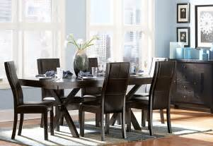Contemporary Dining Room Set Sherman Contemporary Dining Set By Homelegance