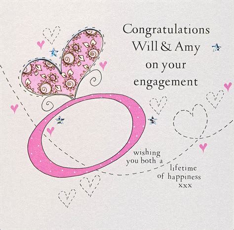 Handmade Engagement Cards - personalised handmade engagement card by eggbert