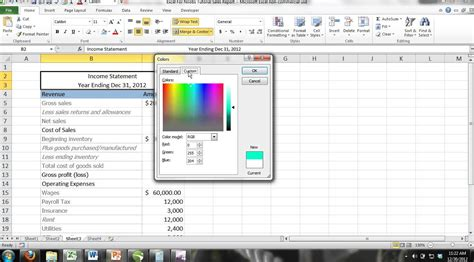 tutorial youtube excel 2013 excel 2013 tutorial for noobs part 8 format cells with