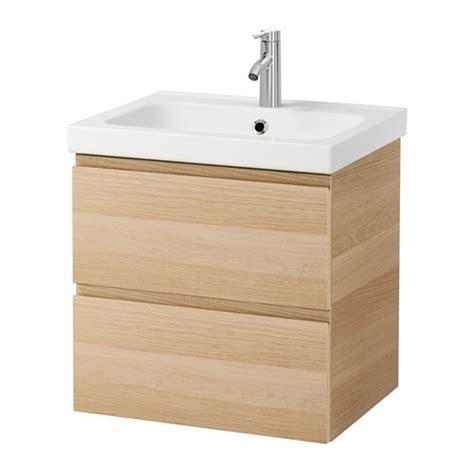 ikea lavabi bagno godmorgon odensvik mobile per lavabo con 2 cassetti
