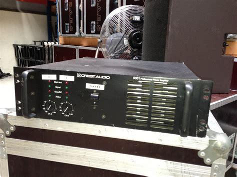 Power Lifier Pl 9001 Crest Audio 9001 Image 548518 Audiofanzine
