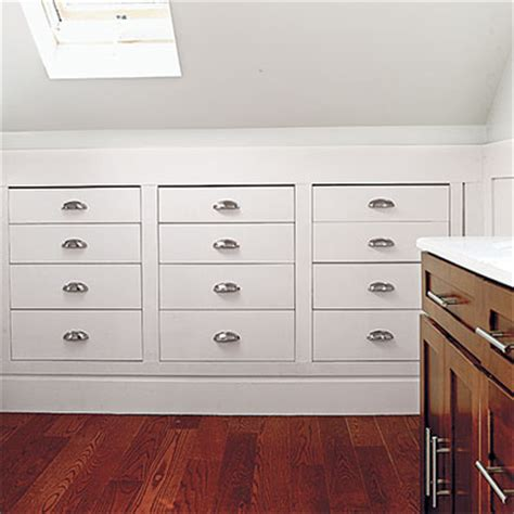 Knee Wall Storage Drawers by Storage Recess It Into Knee Walls Read This Before You