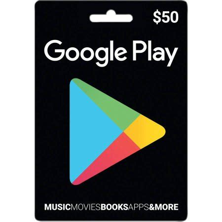 Play Store Gift Card Walmart - google play 50 walmart com