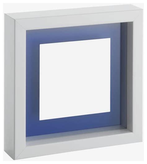moderne bilderrahmen monro 10 x 10cm 4 x 4in white floating photo frame
