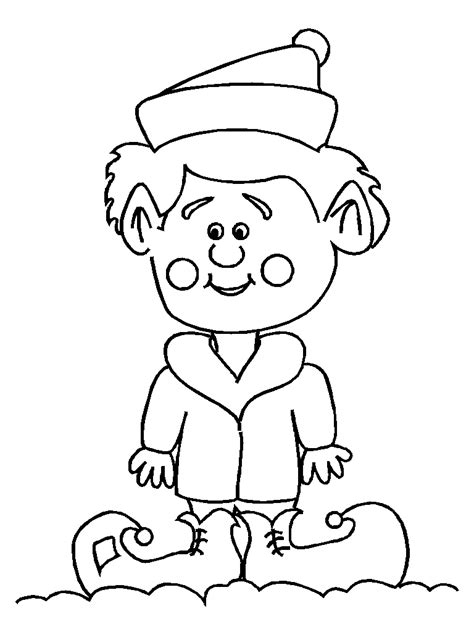 small elf coloring page elf coloring sheet busy little christmas elf