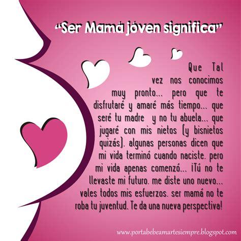que significa una madre para un hijo el ser madre