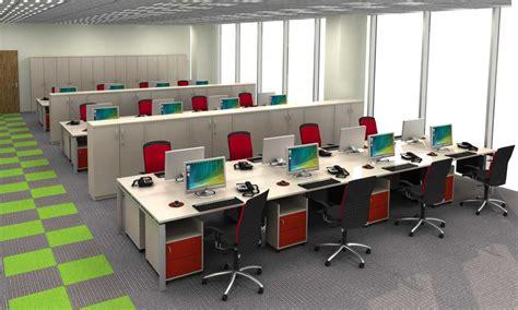 Layout Kantor Modern | desain interior ruang kerja kantor minimalis nyaman