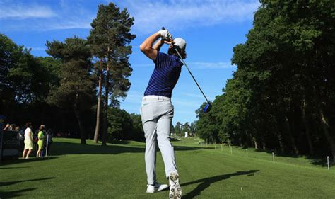 bmw pga chionship why fleetwood s trousers will
