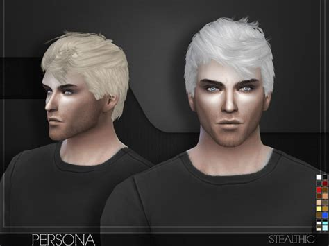 sims 4 cc hair for guys stealthic persona male hair