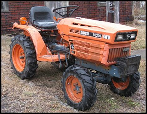 Kubota B5200 Specifications Attachments