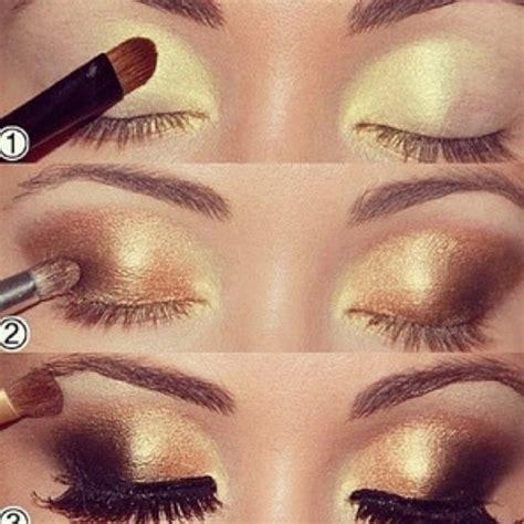 Eyeshadow Gold Tutorial fashionable eye makeup tutorials for 2015 styles weekly