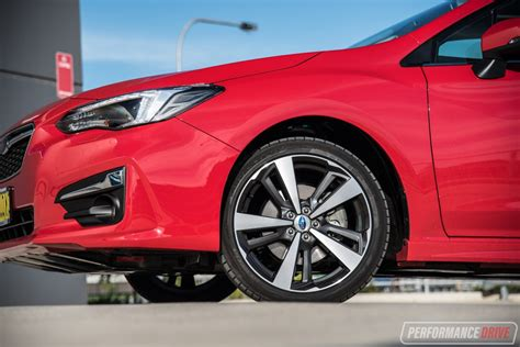subaru impreza wheels 2017 subaru impreza review video performancedrive