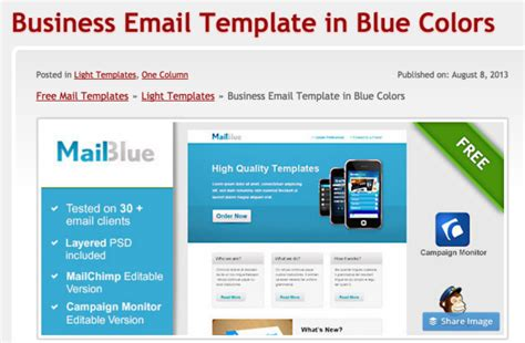 How To Make A Responsive Email Template by 223 Free Responsive Email Templates