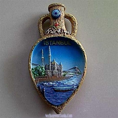 jual souvenir tempelan kulkas teko istanbul turki